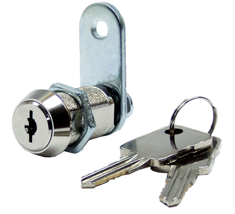 High security cam locks cabinet