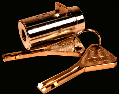 Housing And Barrel Brass Or Zinc Alloy