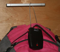 backpack alarm cable lock