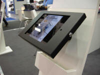 ipad enclosure kiosk lock