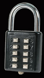 Push Button Combination Padlocks